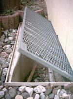 Favorit Gitterrostsicherungen für Kellerschächte und Lichtschächte IY15